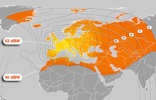 satellite channels asian Hotbird