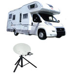 kit satellite camping car 12 V